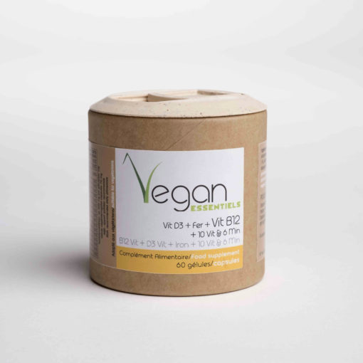 vitamine d3 fer vitamine b12 vegan essentiels 1