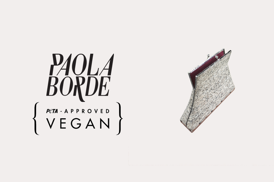 Paola Borde, le chic des sacs vegan Made in France
