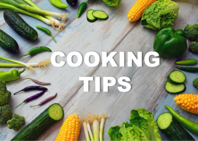 Smart cooking tips