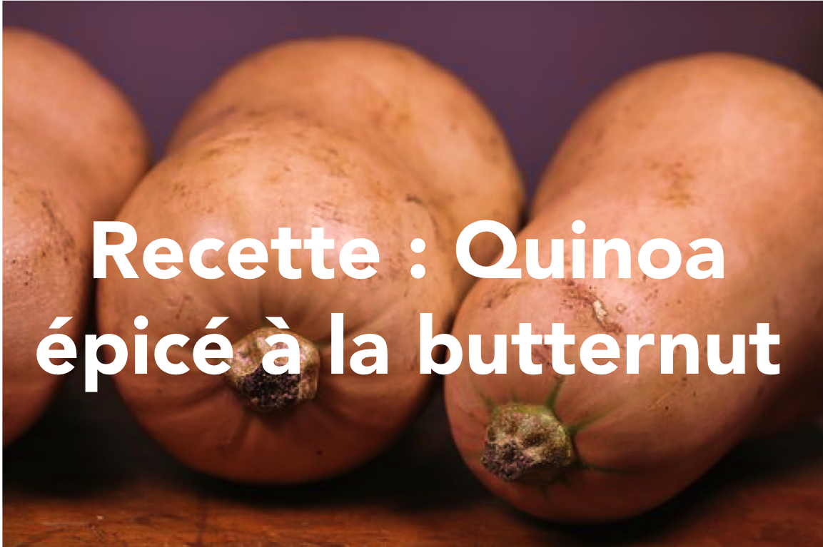 recette quinoa butternut
