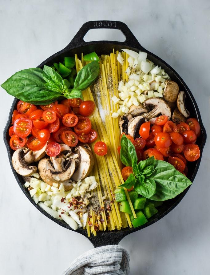 végétarian recipe pasta