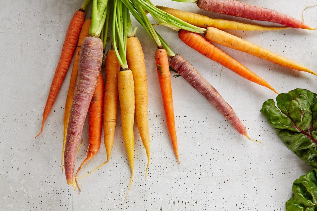 carottes vegan