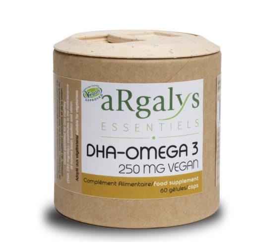 DHA Omega 3 Vegan Vegano Argalys Essentiels05 2019 1980