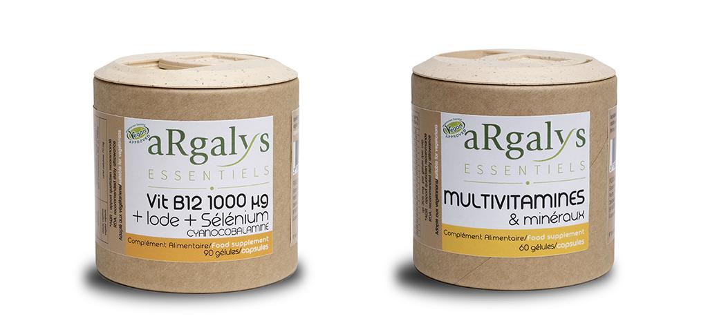 B12 argalys iode selenium multivitamines et mineraux vegan