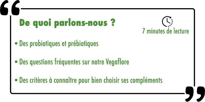 Les sujets abordes sur les probiotiques argalys essentiels