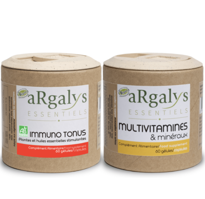 pack Immunite 2 argalys essentiels