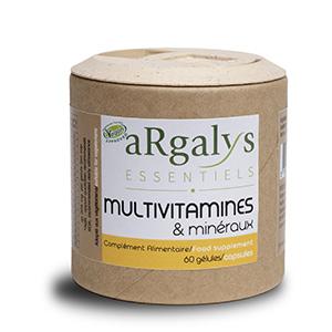 multi vitamines et mineraux argalys